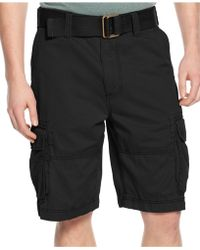 American Rag | Belted Relaxed Cargo Shorts | Lyst