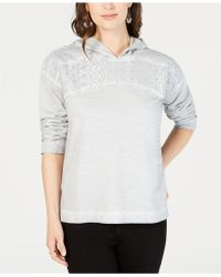 Style & Co. - Lace-yoke Pullover Hoodie, Created For Macy's - Lyst