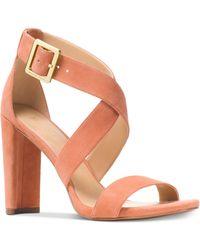 Michael Kors - Shia Dress Sandals - Lyst