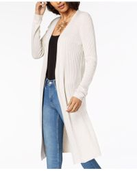 INC International Concepts - Ribbed Duster Cardigan, Only At Macy's - Lyst