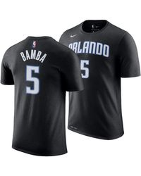 8a822bec6 Nike Aaron Gordon Orlando Magic City Player T-shirt in Black for Men ...