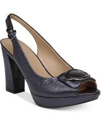 Naturalizer - Abby Peep-toe Dress Sandals - Lyst