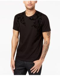 INC International Concepts - Men's Flocked T-shirt - Lyst