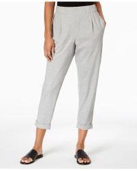 Eileen Fisher - Organic Cotton Slouchy Pants, Regular & Petite - Lyst