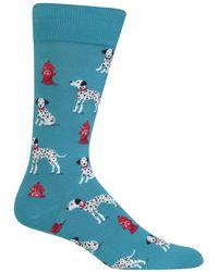 Hot Sox | Dalmatian Socks | Lyst