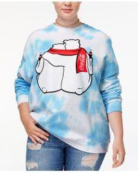 Hybrid - Trendy Plus Size Polar Bears Graphic-print Sweatshirt - Lyst