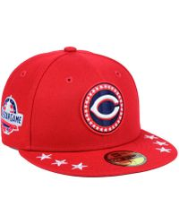 91806a22d KTZ - Cincinnati Reds All Star Workout 59fifty Fitted Cap - Lyst