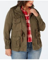 Style & Co. - Plus Size Cargo Jacket, Created For Macy's - Lyst
