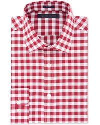 832eb3522 Lyst - Tommy Hilfiger Navy Stripe Slim-fit Dress Shirt in Blue for Men