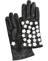 Echo - Blossom Leather Gloves - Lyst