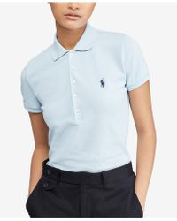 Polo Ralph Lauren | Slim Fit Stretch Polo | Lyst