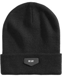 12542107f8c Urban Outfitters High Five Los Angeles Pom Beanie in Gray for Men - Lyst
