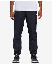 adidas - Essentials Three-stripe Woven Pants - Lyst
