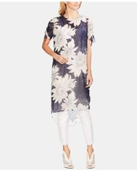 Vince Camuto - High-low Printed Top - Lyst