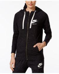 Nike | Gym Vintage Full-zip Hoodie | Lyst