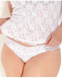 Hanky Panky - Signature Lace Plus Size Original Rise Thong 4811x - Lyst