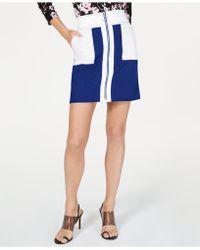 32aa631e6 INC International Concepts - I.n.c. Colorblocked A-line Mini Skirt, Created  For Macy's -