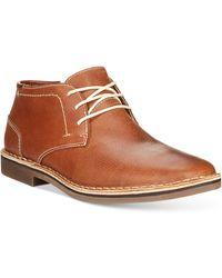 Kenneth Cole Reaction - Desert Sun Leather Chukka Boots - Lyst