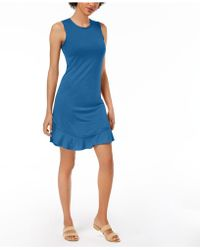 Maison Jules - Ruffled-hem A-line Dress, Created For Macy's - Lyst