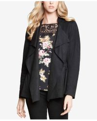 Karen Kane - Draped Open-front Jacket - Lyst