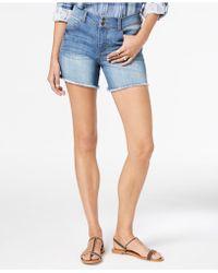 Style & Co. - Frayed-hem Denim Shorts, Created For Macy's - Lyst
