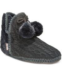 Muk Luks - Women's Amira Boot Slippers - Lyst