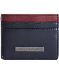 Armani Exchange - Colorblocked Crd Holder - Lyst