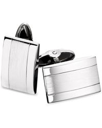 Macy's - Men's Stainless Steel Dome Cuff Links - Lyst