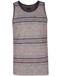 Hurley - Dri-fit Lagos Yesterday Stripe Tank - Lyst