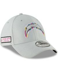 a64f0cf574d Lyst - Ktz Los Angeles Chargers Sideline 39thirty Cap in Blue for Men