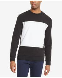 Kenneth Cole Reaction - Men's Pieced Colorblocked Sweatshirt - Lyst