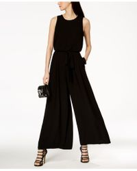 Vince Camuto - Sleeveless Wide-leg Jumpsuit - Lyst