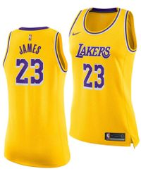 c1059f9b6b67 Lyst - adidas Kids  Short-sleeve Kobe Bryant Los Angeles Lakers ...