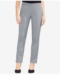 Vince Camuto - Houndstooth-print Skinny Trousers - Lyst