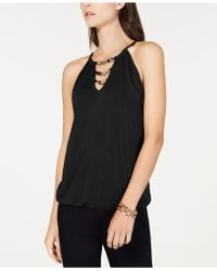 INC International Concepts - I.n.c. Embellished Halter Top, Created For Macy's - Lyst