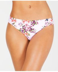 Nanette Lepore - Nanette By Floral-print Bikini Bottoms, Created For Macy's - Lyst