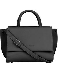 faefca75f Vagabond No. 36 Leather Cross-Body Bag in Black - Lyst