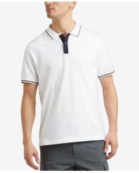 Kenneth Cole - Tipped Polo - Lyst