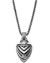 Scott Kay - Men's Arrow Pendant Necklace In Sterling Silver - Lyst
