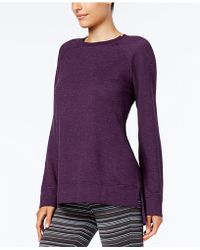 Alfani | Heathered Pajama Tunic | Lyst