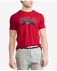 Polo Ralph Lauren - Active Fit Performance T-shirt - Lyst