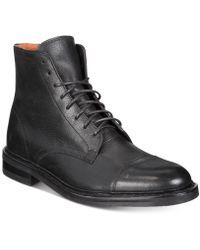Frye - Men's Seth Cap-toe Lace-up Boots - Lyst