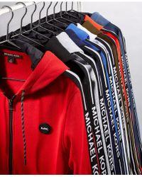 Michael Kors - Logo Fleece Full-zip Hoodie - Lyst