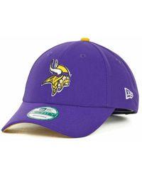 4efe9aa43 Lyst - KTZ Minnesota Vikings Tc Training Bucket Hat in Purple for Men