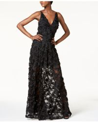 ceed6b0a Xscape - Floral Lace Gown - Lyst