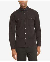 Kenneth Cole Reaction - Men's Dual-pocket Button-down Shirt - Lyst