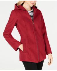 London Fog - Hooded Coat - Lyst