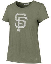 47 Brand - San Francisco Giants Olive Fader T-shirt - Lyst
