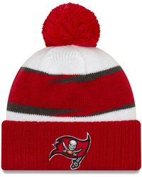 the latest ebb77 0d1c3 KTZ Chicago Bears Christmas Sweater Pom Knit Hat for Men - Lyst