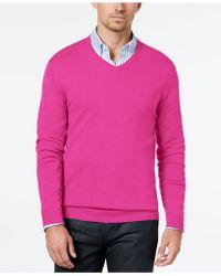 Alfani - V-neck Sweater, Created For Macy's - Lyst